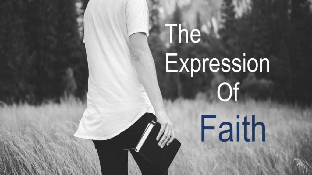 ways to express your faith